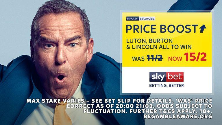 Soccer Saturday Price Boost 23.03.19