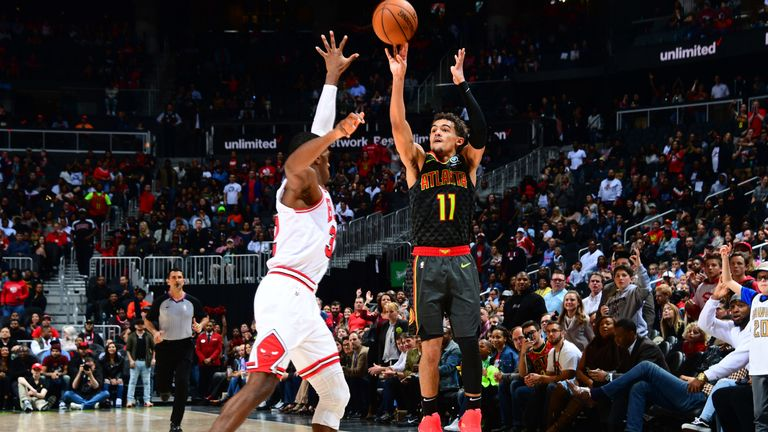 Trae Young Hit What He Thought Was A Game Winning Three Pointer With 2 2 Seconds Left Only For The Chicago Bulls To Force Overtime