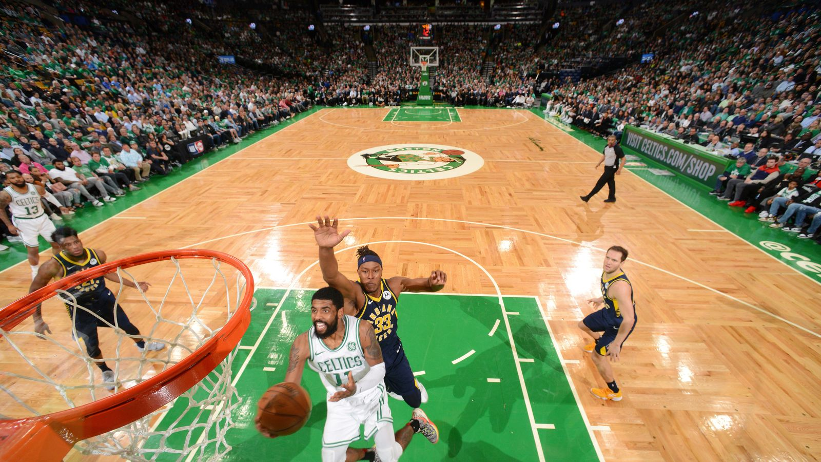 59ef50d975dc Kyrie Irving  was special  in Boston Celtics Game 2 win over Indiana Pacers