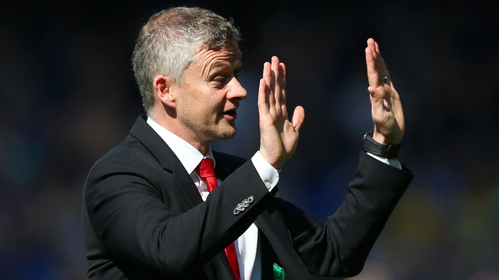 Ole Gunnar Solskjaer says Manchester United will not 'capitulate' against Everton again