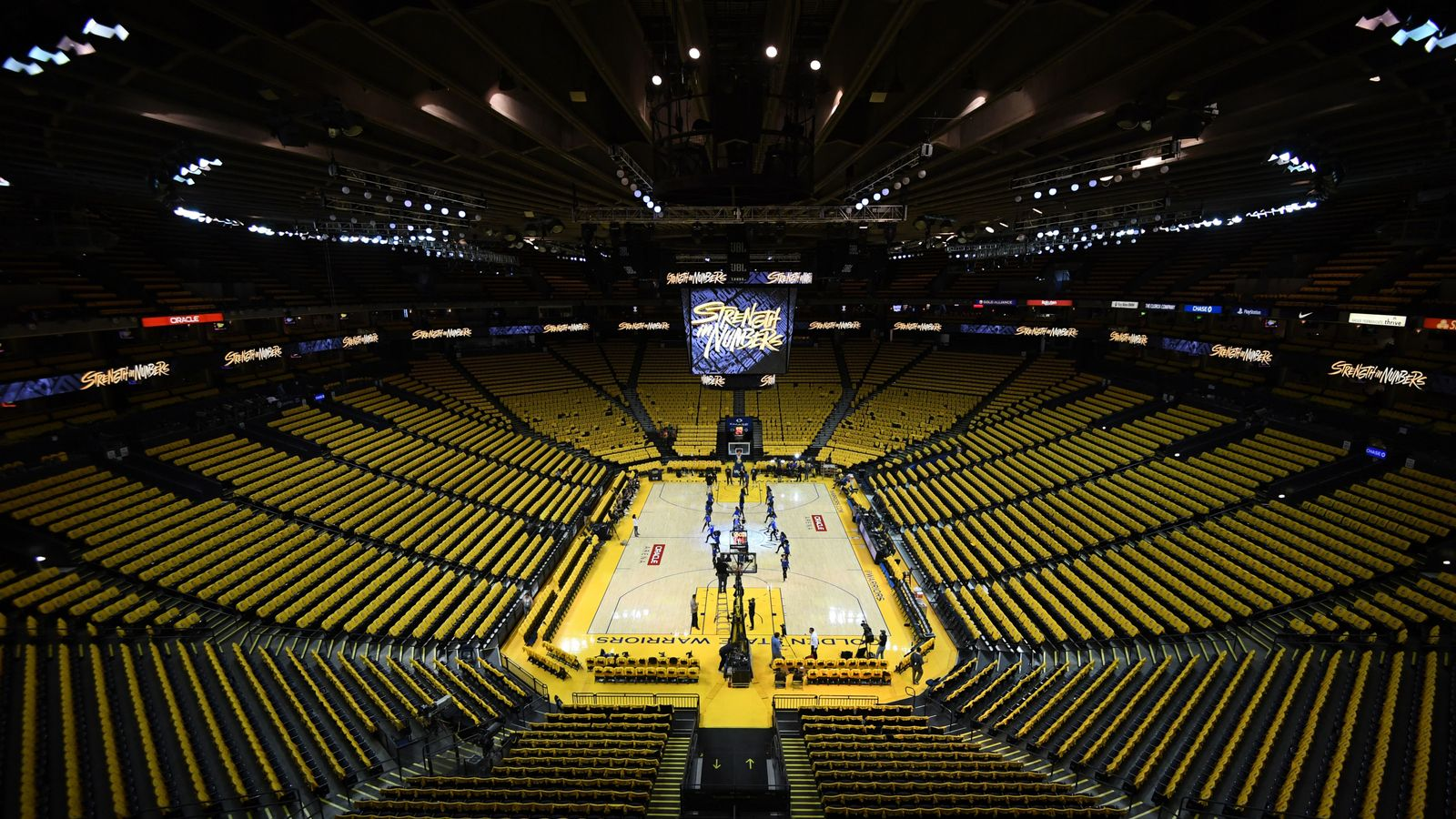 Nba Finals Oracle Arena Set For Final Chapter As Golden