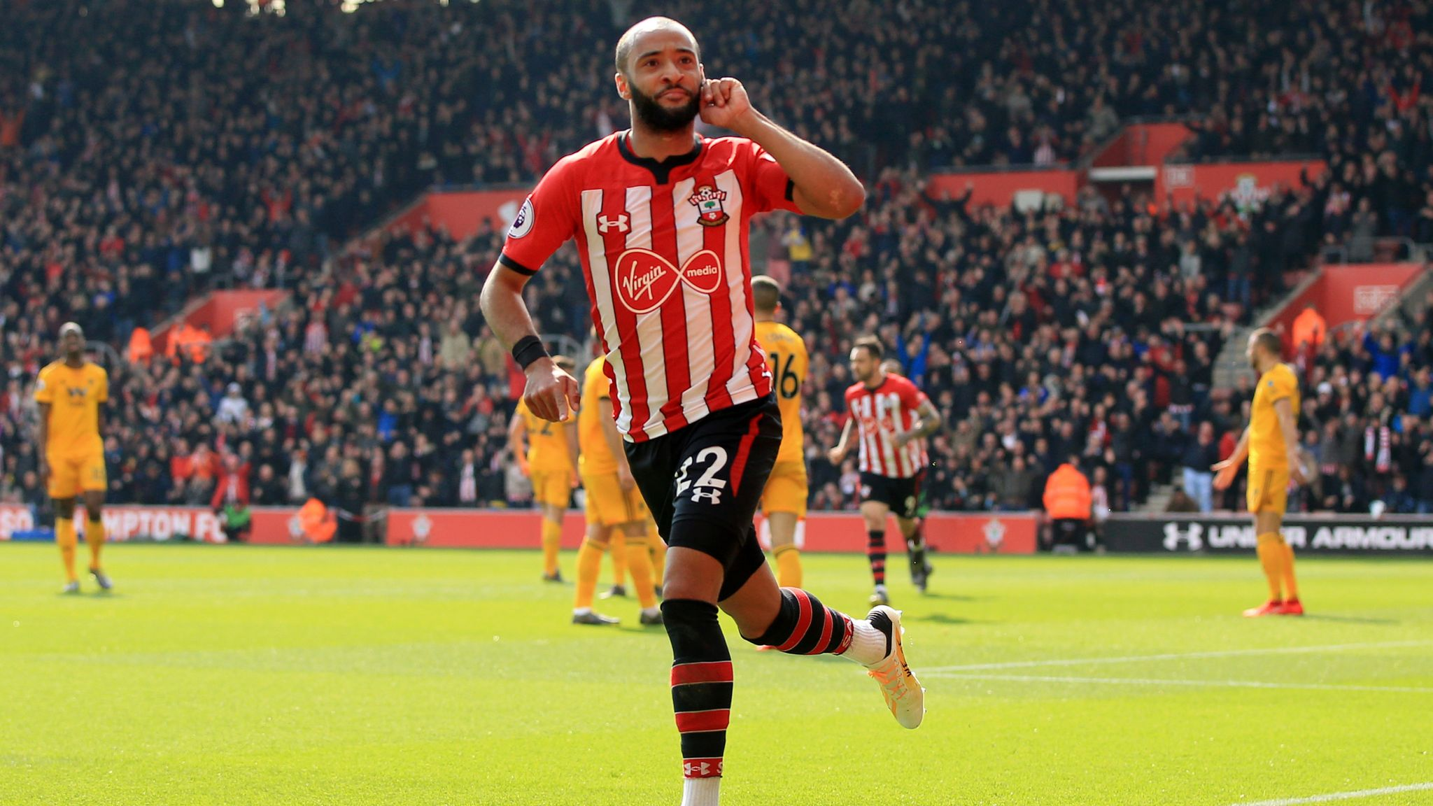 Southampton 3 1 Wolves Nathan Redmond Scores Twice For