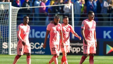 Barcelona were held to a goalless draw by Huesca on Saturday