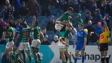 Benetton picked up a thrilling last-minute draw at the RDS on Saturday