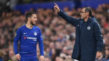 Sarri criticises slow second-half starts