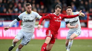 Sean McConville struck for Accrington against Marseille