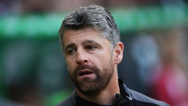 Stephen Robinson  says he is 'delighted' to be staying at Motherwell