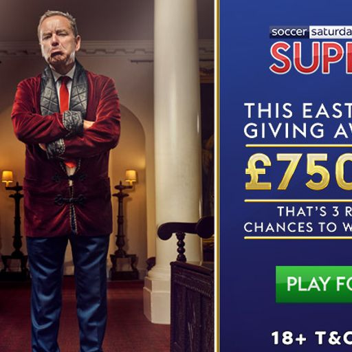 Jeff's giving away up to £750K