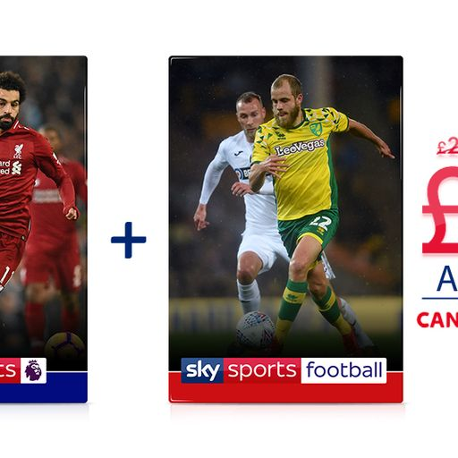 Two for one football offer