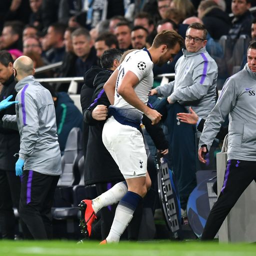 Poch: Kane could miss rest of season