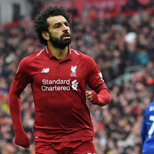 Salah: Four more wins will win title