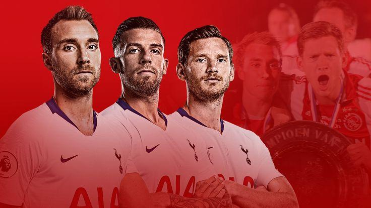 Tottenham players Christian Eriksen, Toby Alderweireld and Jan Vertonghen take on former club Ajax in the Champions League semi-final