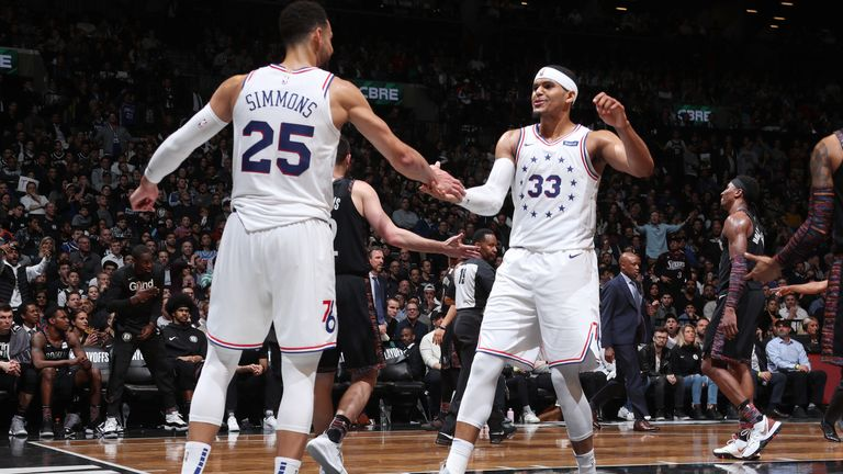 d4b4a0b6b Ben Simmons scores 31 points as Philadelphia 76ers beat Brooklyn Nets to  take 2-1 series lead