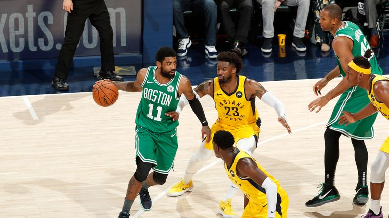 Kyrie Irving attacks the Pacers in Game 3