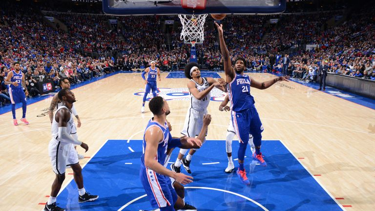 Joel Embiid scores 23 points as Philadelphia 76ers rout