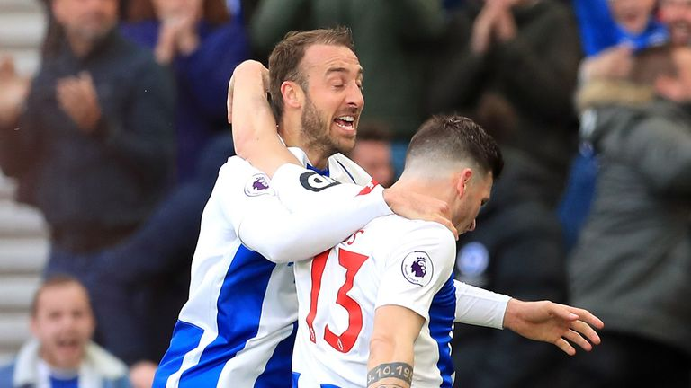 Highlights from the 1-1 draw between Brighton and Newcastle in the Premier League.