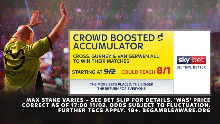 Sky Bet Premier League Darts CBA 25.04