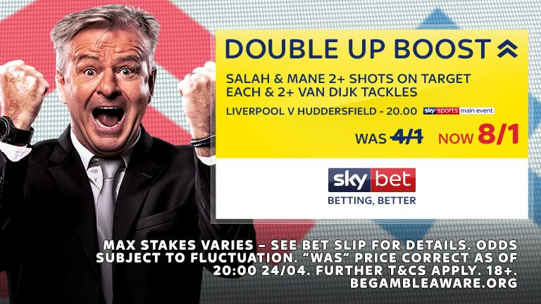 26.04 Sky Bet Double Up Boost