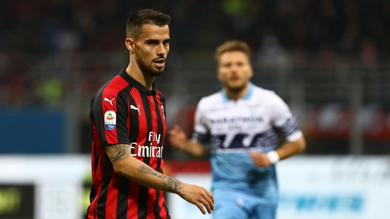 Former Chelsea target Suso could head for the AC Milan exit this summer