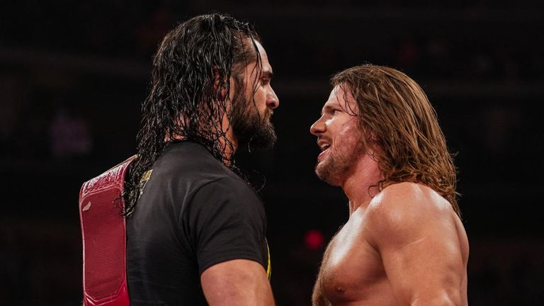AJ Styles will be Seth Rollins' first challenger for his Universal title
