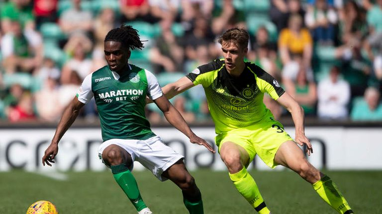 Hibernian held Celtic to a goalless draw on Sunday