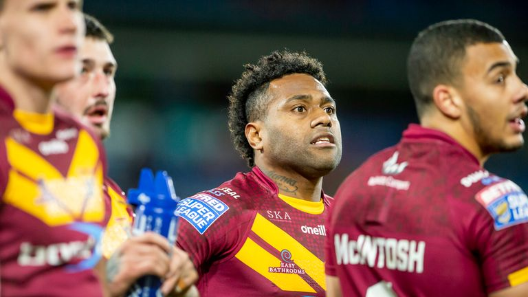 Akuila Uate scored two tries as Huddersfield continued their revival in London