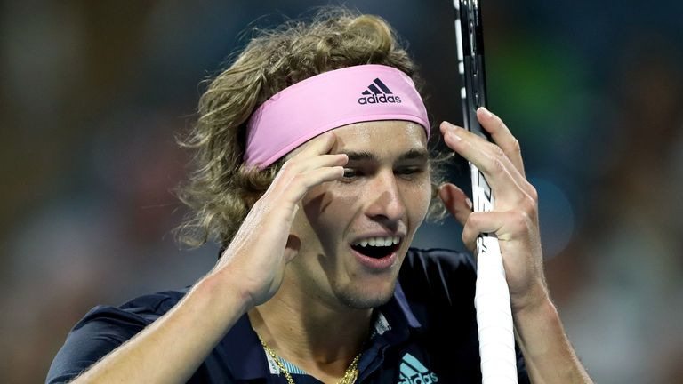 Joining Roger Federer's Team8 management company will help improve Alexander Zverev's game, according to Nicolas Kiefer