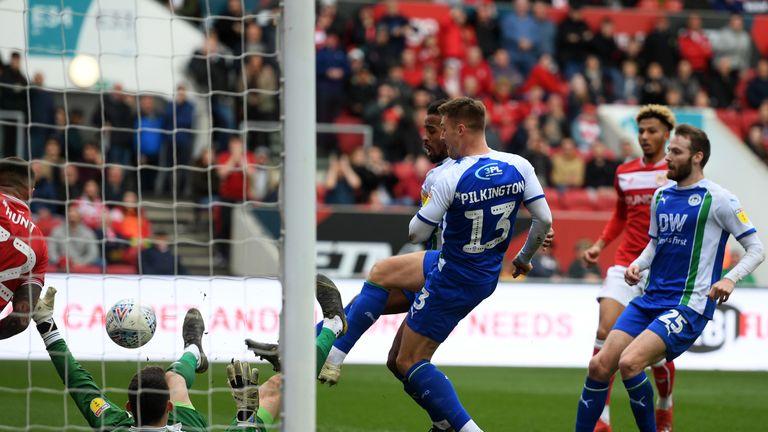Wigan's Anthony Pilkington