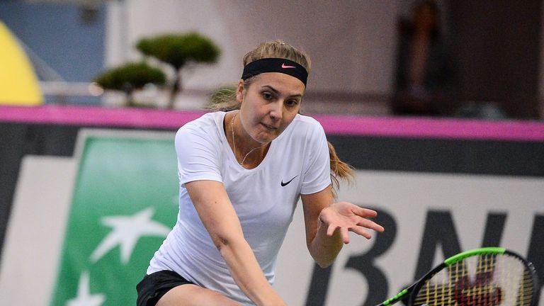 Germany's Antonia Lottner upset top seed Belinda Bencic