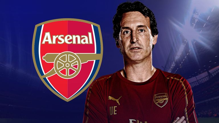 Unai Emery is approaching a year in charge of Arsenal