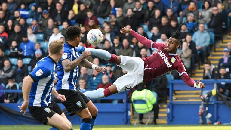 Aston Villa scored late to beat Sheffield Wednesday