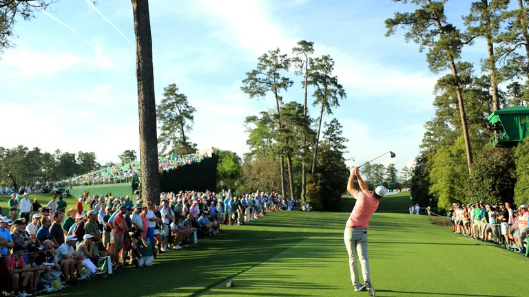 Sky Sports first broadcast The Masters in 2011