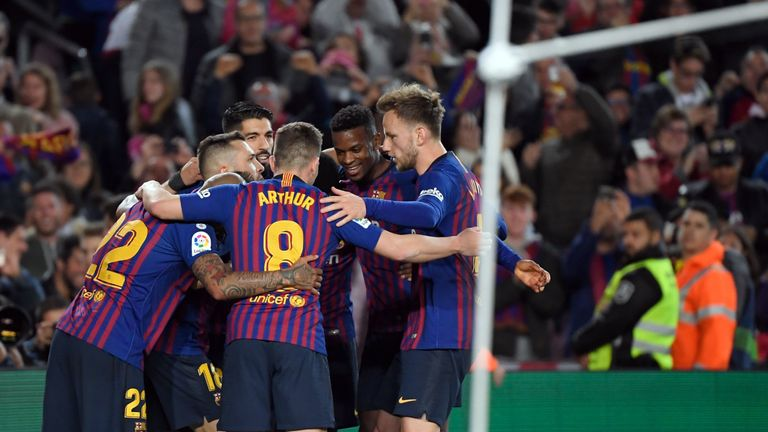 Barcelona secured an eighth title in 11 years