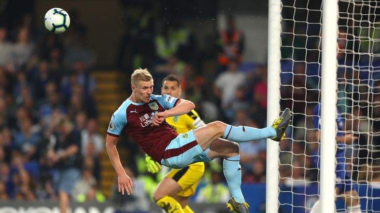 Ben Mee put in a masterclass of defending in the second-half