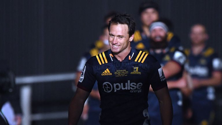 Ben Smith didn't finish on the right side of the result in his 150th appearance for the Highlanders