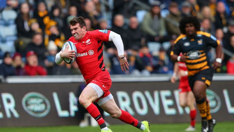 Saracens' livewire takes the nine jersey this week