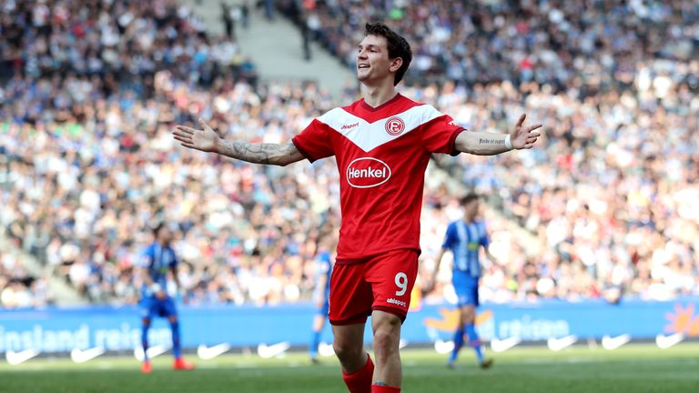 Benito Raman netted a double for Fortuna Dusseldorf