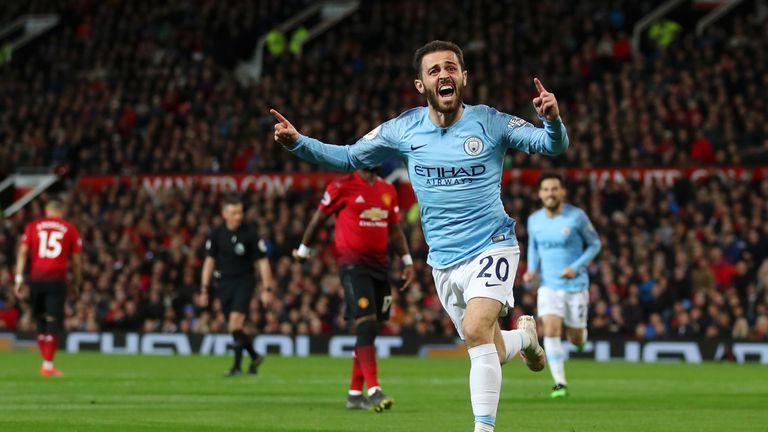 Bernardo Silva's importance grew at Man City last term