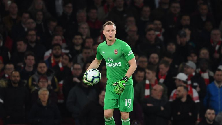 Bernd Leno has established himself as Arsenal's first-choice goalkeeper since arriving from Bayer Leverkusen last summer