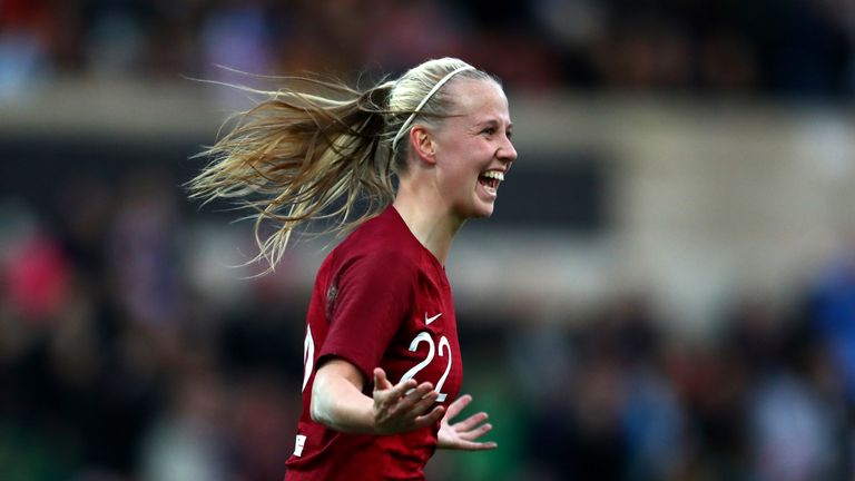 Beth Mead scored the opener for England