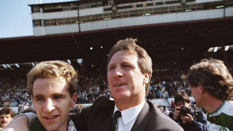 Billy McNeill had two successful spells as Celtic manager after his playing days