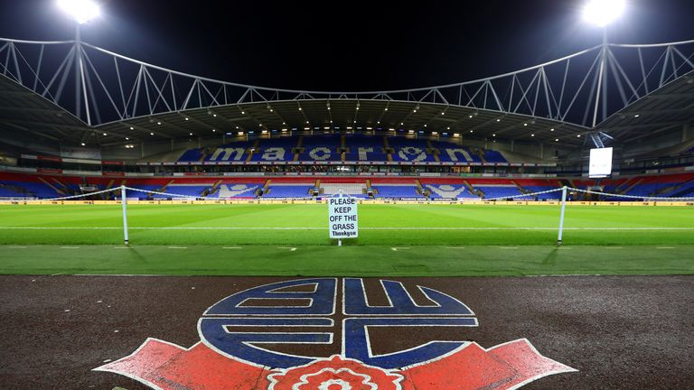 Bolton Wanderers players refuse to train before March wages