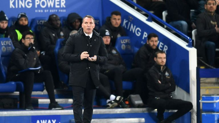 Emery praised the work Brendan Rodgers has done so far with Leicester