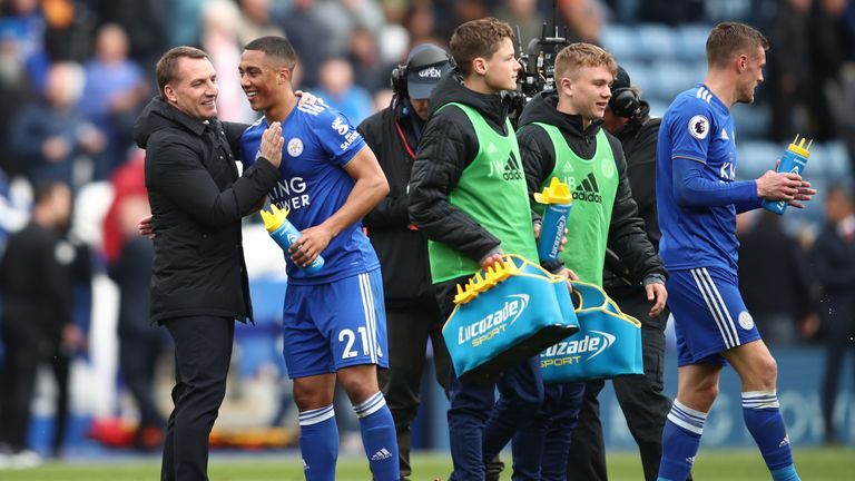 Brendan Rodgers and Leicester could end their season on a high if they can see off Chelsea