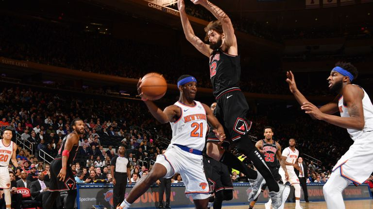 NBA Chicago Bulls v New York Knicks