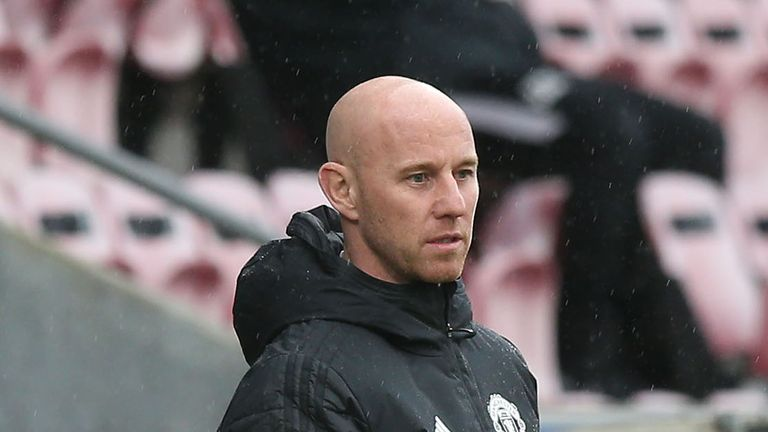 Manchester United's head of academy Nicky Butt
