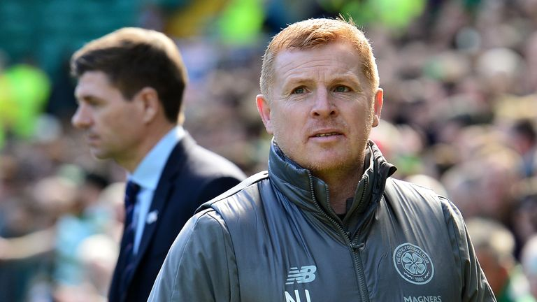 Celtic manager Neil Lennon signed a deal until the end of the season