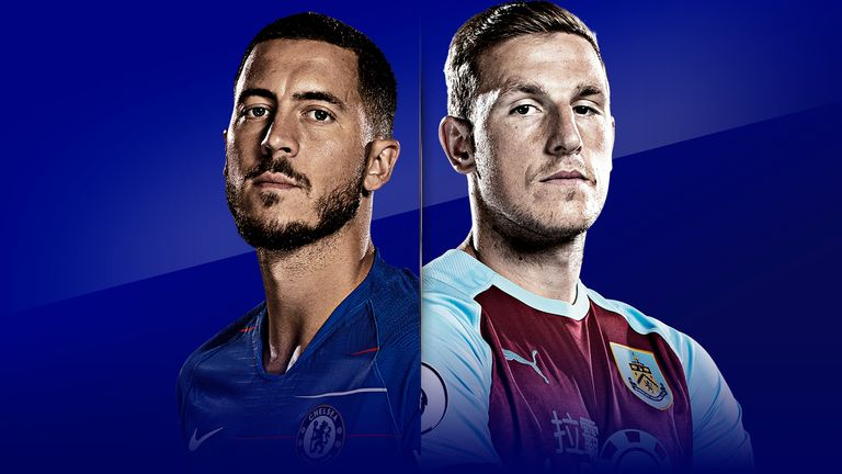Chelsea host Burnley in the Premier League live on Sky Sports on Monday