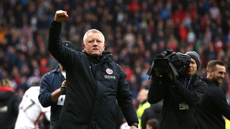Boyhood Blades fan Chris Wilder has led his club to the verge of the Premier League