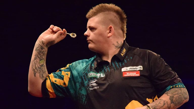 Cadby is targeting a spot in the world's top 32 by the end of this year